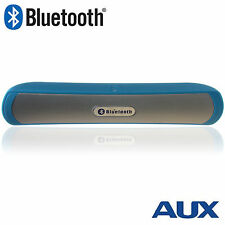 Bluetooth Speaker Wireless Speaker Portable with MP3 Player, AUX & Mic - BLUE