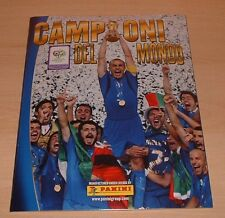 Panini World Cup 2006 Campioni del Mondo Italia sealed empty Album + Sticker set
