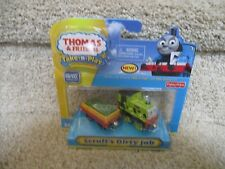 Thomas the Train Wooden Railway NEW Scruff's Dirty Job Tinder Green Garbage haul