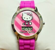 Hello Kitty Children's Watch Digital Pink Girls Cute