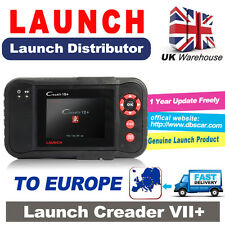 UK Stock Launch X431 Creader VII+ 7+ Auto Diagnostic Tool Scanner Code Reader