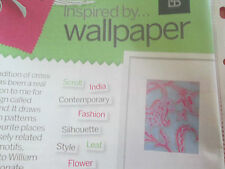 'Inspired By... Wallpaper' Laurence Llewelyn-Bowen Cross Stitch Chart  (only)