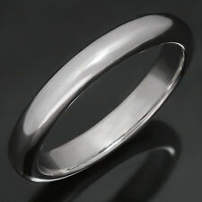 CARTIER Classic Platinum Wedding Band Ring