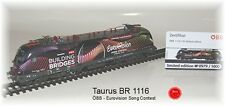 RailAd 1038 AC E-Lok Taurus ÖBB 1116 170 SONG CONTEST  Wechselstromversion #NEU#