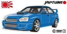 Subaru WRX Impreza   - Blue with Factory Rims - JDM - JapTune Brand