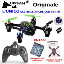 DRONE H107C radiocomando 2,4Ghz mini X4 CAMERA Quadricottero *ORIGINALE HUBSAN*