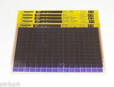 Microfich Ersatzteilkatalog Mazda 323 Modelle 1995 Stand 12/1995