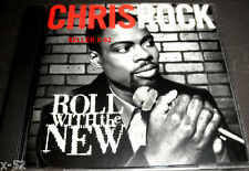 CHRIS ROCK cd COMEDY Stand Up album Roll with the New Marion Barry OJ Ojays