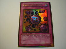 YU GI OH  Crush Card Virus GLD1-EN038 Limited Edition Gold Rare
