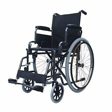 Lightweight folding self propel wheelchair with flip up armrests and lap belt
