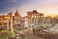 Puzzle Forum Romanum, 2000 Teile, Italien, Rom, Baukunst, Antike, Clementoni