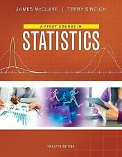 FIRST COURSE IN STATISTICS - NEW PAPERBACK BOOK