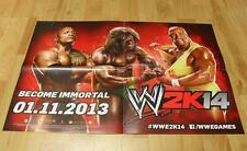 Wwe 2k14 poster affiche environ 60x42cm ✰ NEUF ✰