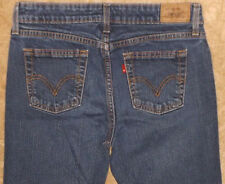 515 Levis Womens Bootcut Blue Jeans Red Tab Pants 8M ( 32 X 29 ) #2310