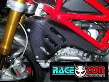 ducati monster S4 S4R S4RS large carbon fibre radiator panels fiber