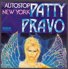 PATTY PRAVO DISCO 45 GIRI AUTOSTOP B/W NEW YORK - RCA PB 6342
