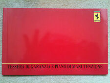 Ferrari 355/550/456 Service Book (New & Blank)