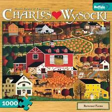 CHARLES WYSOCKI BUFFALO GAMES JIGSAW PUZZLE BUTTERNUT FARMS 1000 PCS