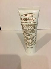 Kiehl's Pineapple Papaya Facial Scrub with Real Fruit 3.4oz (100ml)