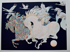 GUILLAUME AZOULAY SERIGRAPH LE VOL DES GRUES SIGNED #23/50 W/COA
