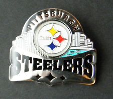 PITTSBURGH STEELERS NFL FOOTBALL SKYLINE LAPEL PIN BADGE 1.25 inches