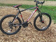 "CTBikes Highway Pro Gents Black/Red 26"" Wheel F Alloy MTB Mountain Bike"