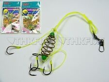 2 Pcs in 1 bag CARP FISHING HOOKS Powder Baits Trap Fishing Hooks