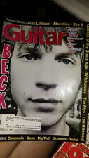 Guitar   Magazine JANUARY 1999 FINGER ELEVEN GARBAGE REM TAB FREE USa SHIPping