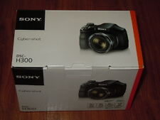 NEW in Box - Sony Cyber-Shot DSC-H300 20.1 MP Camera - BLACK - 027242873810