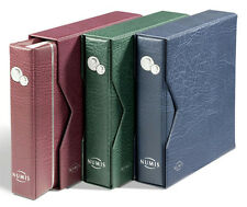 NUMIS Coin Album incl. 5 Pockets and Slipcase - GREEN