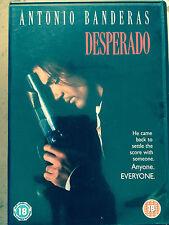 Antonio Banderas Salma Hayek EL DESPERADO ~ Rodriguez Acción Clásico GB DVD