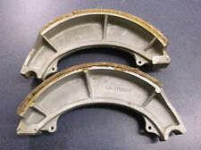 Vintage Suzuki T500/GS400X Front Brake Shoe Set NOS 54410-15000/54400-15820