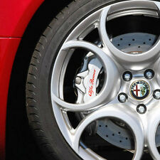 ALFA ROMEO HI - TEMP PREMIUM BRAKE CALIPER DECALS STICKERS CAST VINYL BRERA