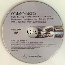 Mercedes Benz Comand (MCS II) Digital Road Map North America - 2013