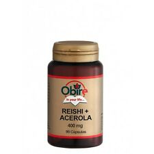 REISHI + ACEROLA 400 mg 90 capsulas OBIRE ( Antioxidante, defensas,antialergias)