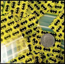 175175 Original Apple Baggies 3 Mil Top Quality Ziplock 100 Bags Batman Design