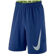 NIKE FOOTBALL SPEEDVENT TRAINING SHORTS BLUE SIZES M/L 612982 455