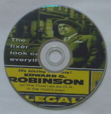 FILM NOIR: ILLEGAL 1955 Lewis Allen Edward G. Robinson Nina Foch Jayne Mansfield
