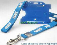 DELUXE NHS Personalised Lanyard with Card Holder     **  £2.99 DELIVERED **