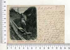 "15631) AUSTRIA 1908 PC ""Tirol Zahnradbahn - Treno a cremagliera"" to Dresden"