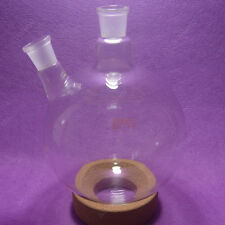 2000ml 2 neck round bottom Boiling Flask,24/29 joint,Glass flask,lab glassware