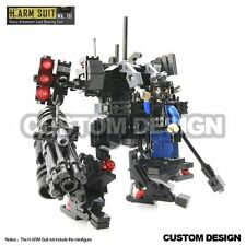Mk III Heavy Mobile Mech Suit Armed combat War Armor pack for Lego minifigure