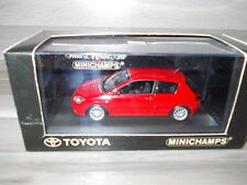 Minichamps 1/43 - Toyota Corolla - red - Mint in  box