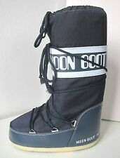 Tecnica MOON BOOT Nylon jeans blau Gr. 35 - 38  Moon Boots Moonboots denim blue