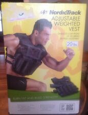 NordicTrack ADJUSTABLE WEIGHTED VEST From 2.5 to 20 lbs