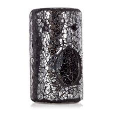 Ashleigh & Burwood verre mosaïque colonne d'huile parfumée brûleur magie noire cadeau de Noël