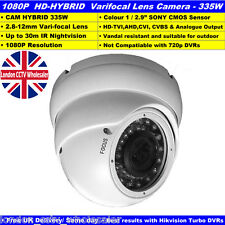 HDTVI-1080p CCTV 2.4MP HYBRID  2.8-12mm Verifocal lens Sony Cmos 30m IR Camera W