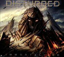Disturbed - Immortalized (Deluxe Version) CD (2015) original verpackt - Neuware