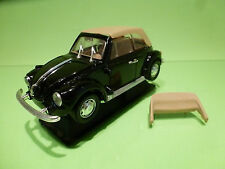 POLISTIL S220 VW VOLKSWAGEN KAFER BEETLE - CABRIOLET 1:25 - EXCELLENT ON STAND