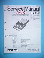 Service Manual-Anleitung für Panasonic RQ-2732 ,ORIGINAL